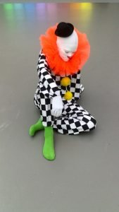 Clown van Ugo Rondinone