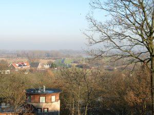 Tijdpad Nijmegen uitzicht Ooij